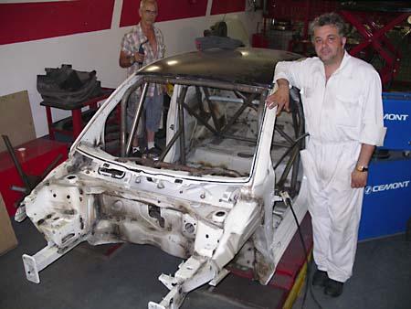 Fiat 500 racing by Leone Motorsport scocca roll bar