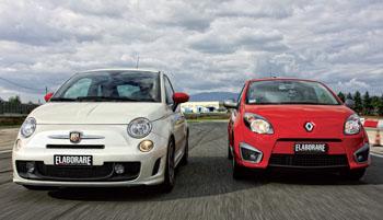 500 Abart VS Twingo RS