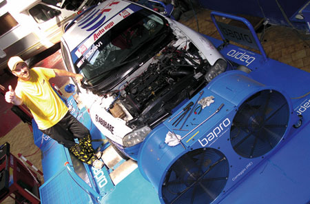 Banco prova G&C Motorsport