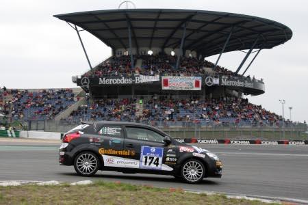 Il pilota Alquati alla 24H del Nuerburgring