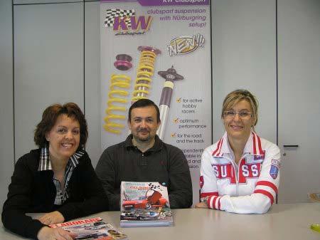 Patrizia Casella insieme al marito Bruno Martelli e alla sorella Cristina