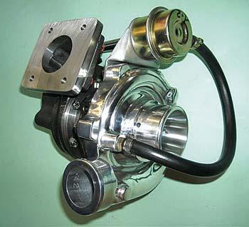 Turbocompressore maggiorato