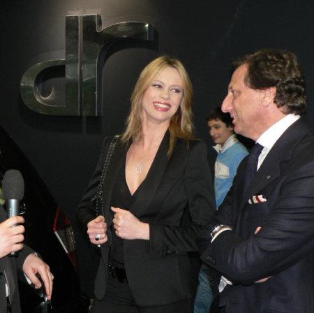 Anna Falchi e Massimo Di Risio
