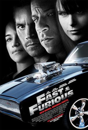 Locandina film Fast e Furious 4