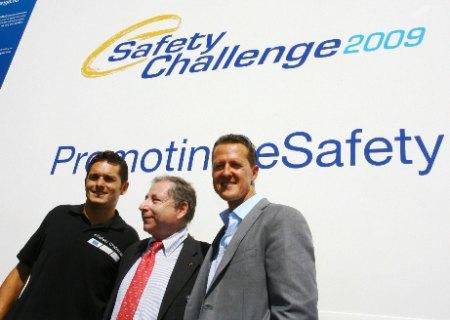 Fisichella, Todt e Schumacher a Vallelunga