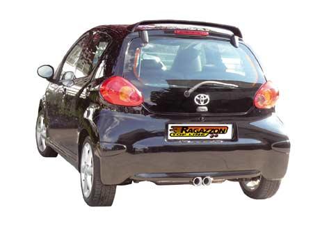 Scarico  per Toyota  Aygo