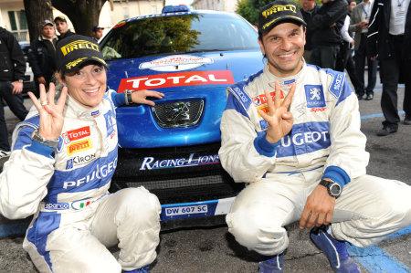 Paolo Andreucci e Anna Andreussi Campioni d'Italia 2009