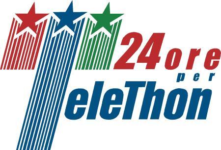 Logo 24 Ore Telethon