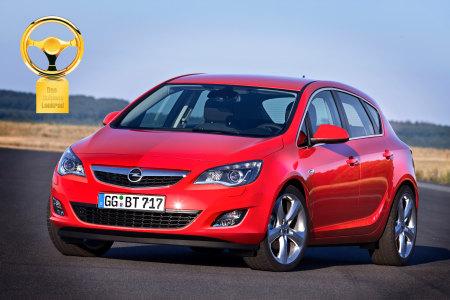 La nuova Opel Astra Volante d'oro 2009