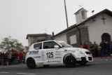 Uliana sulla vittoriosa Suzuki Swift Sport 1600