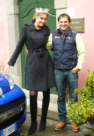 Miss Italia 2009 ed il campione Andreucci a ?Il Ciocco Hotels & Resort?
