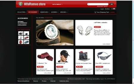 Nuovo shop online Alfa Romeo
