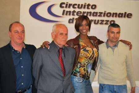 Ainett Stephens al Circuito Internazionale d'Abruzzo