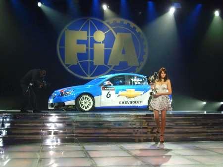 Numerosi riconoscimenti per Chevrolet al Gala FIA di Monaco
