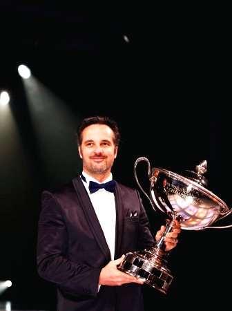 Yves Muller con il prestigioso premio al Gala FIA di Monaco