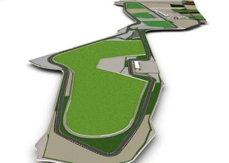 Mappa del nuovo autodromo di Siracusa