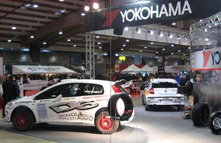 Stand Yokohama a Expo Rally