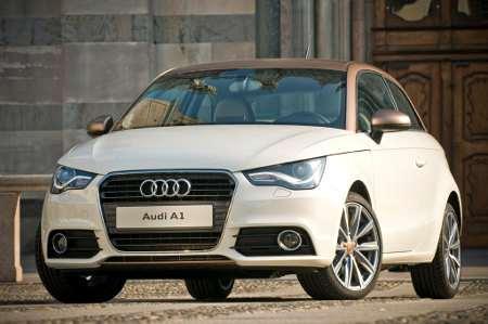 Audi A1 Goldie by Aznom