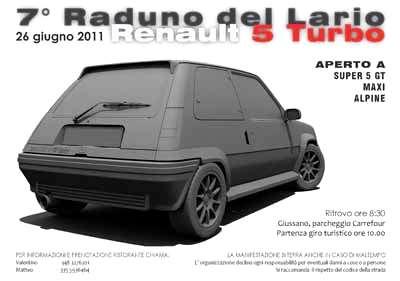 7° Raduno Renault 5 GT Turbolario