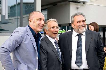I proprietari e fondatori di Gen-Art Riccardo Gentili, Roberto Gentili, Artemio Artegiani