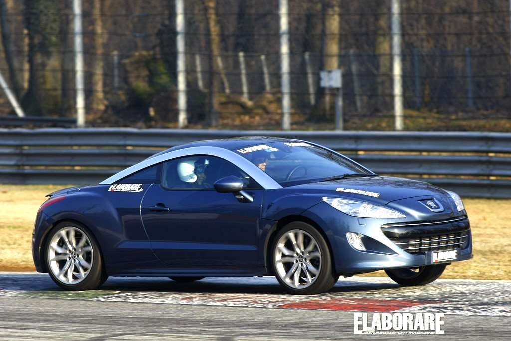 Photo of Monza on board peugeot track day
