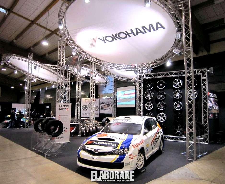 Photo of Yokohama all'Expo Rally di Brescia