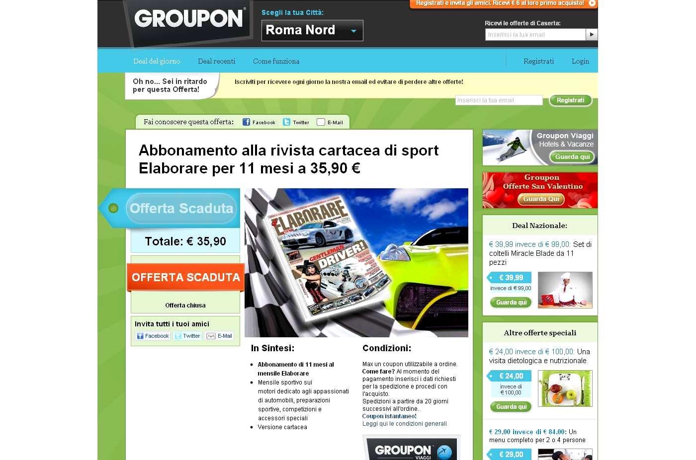 Photo of Novità Groupon come funziona?