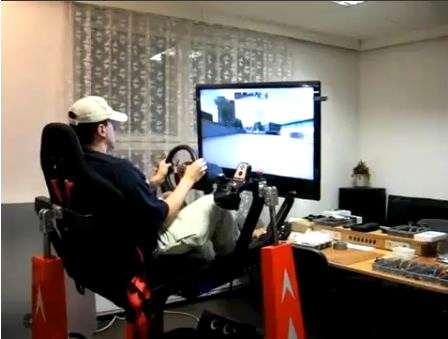 Photo of Simulatore di gioco auto idraulico