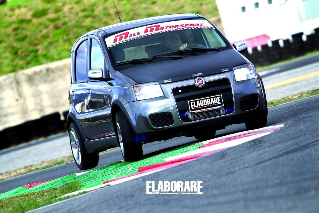 Photo of Fiat Panda Turbo Mele Motorsport su Elaborare di aprile