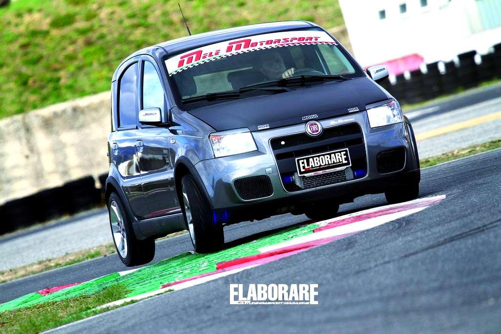 Photo of Fiat Panda Turbo Mele Motorsport su Elaborare di aprile