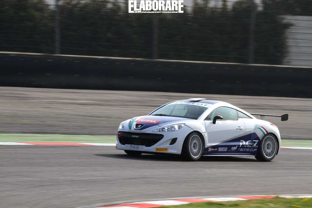 Photo of Peugeot RCZ Cup VIDEO on board