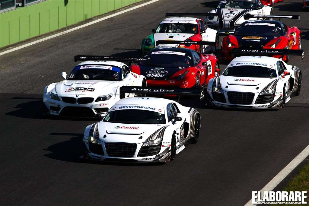 Photo of Vittoria a Vallelunga per la Audi R8 LMS ultra