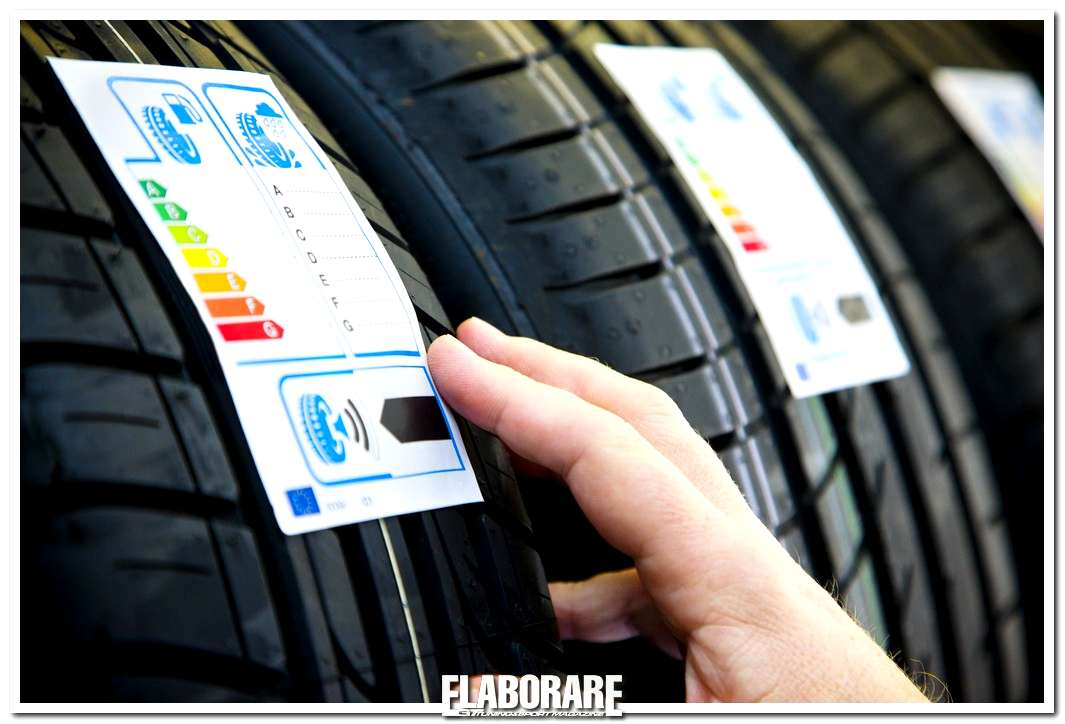 Pneumatici Goodyear con l'etichetta europea dei pneumatici