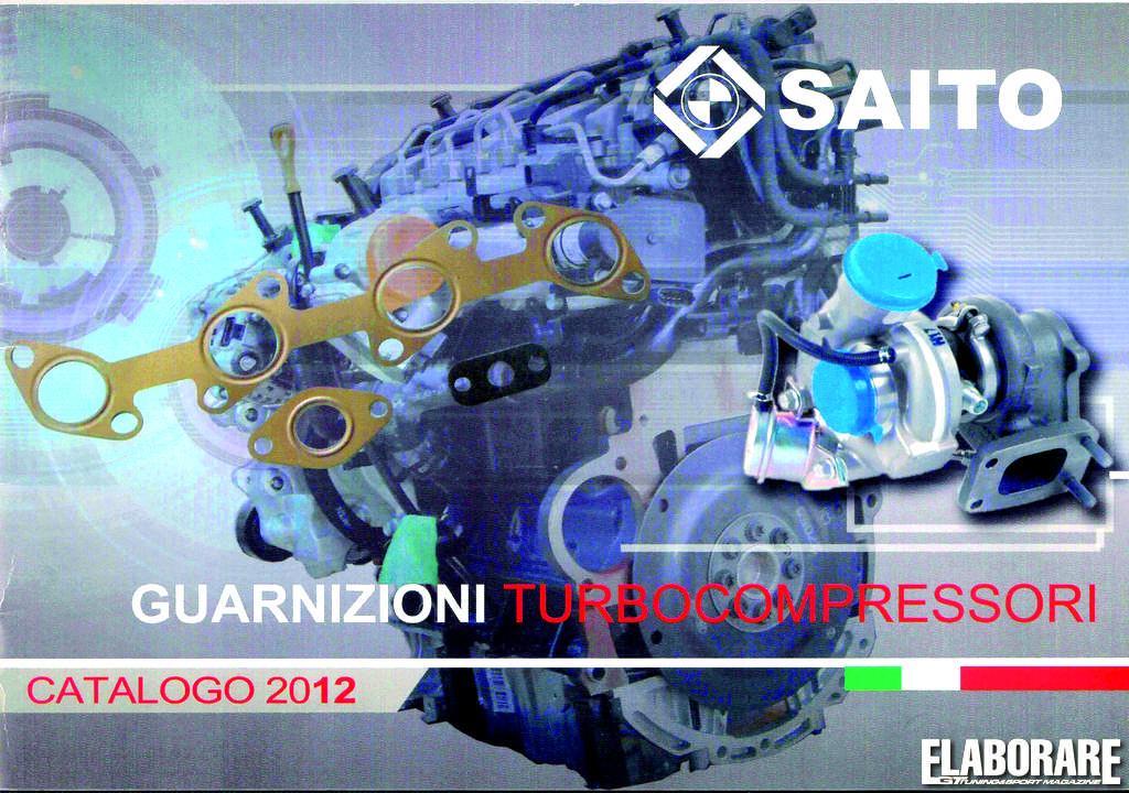 Photo of SAITO uovo catalogo guarnizioni