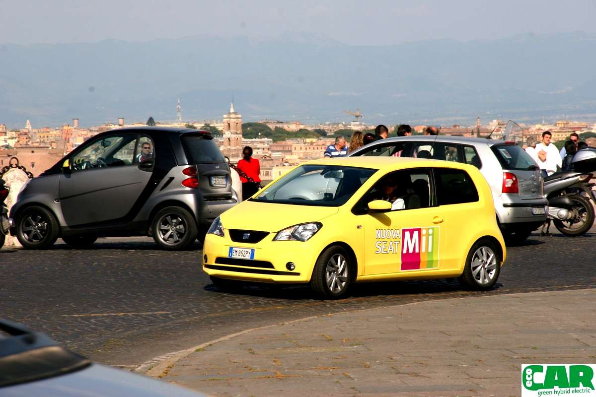 Photo of Weekend SEAT Mii a Roma