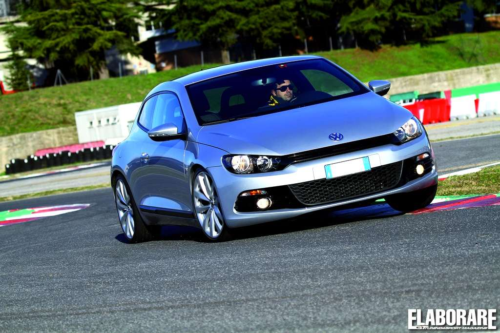 Photo of Speedtest VW Scirocco su Elaborare di maggio