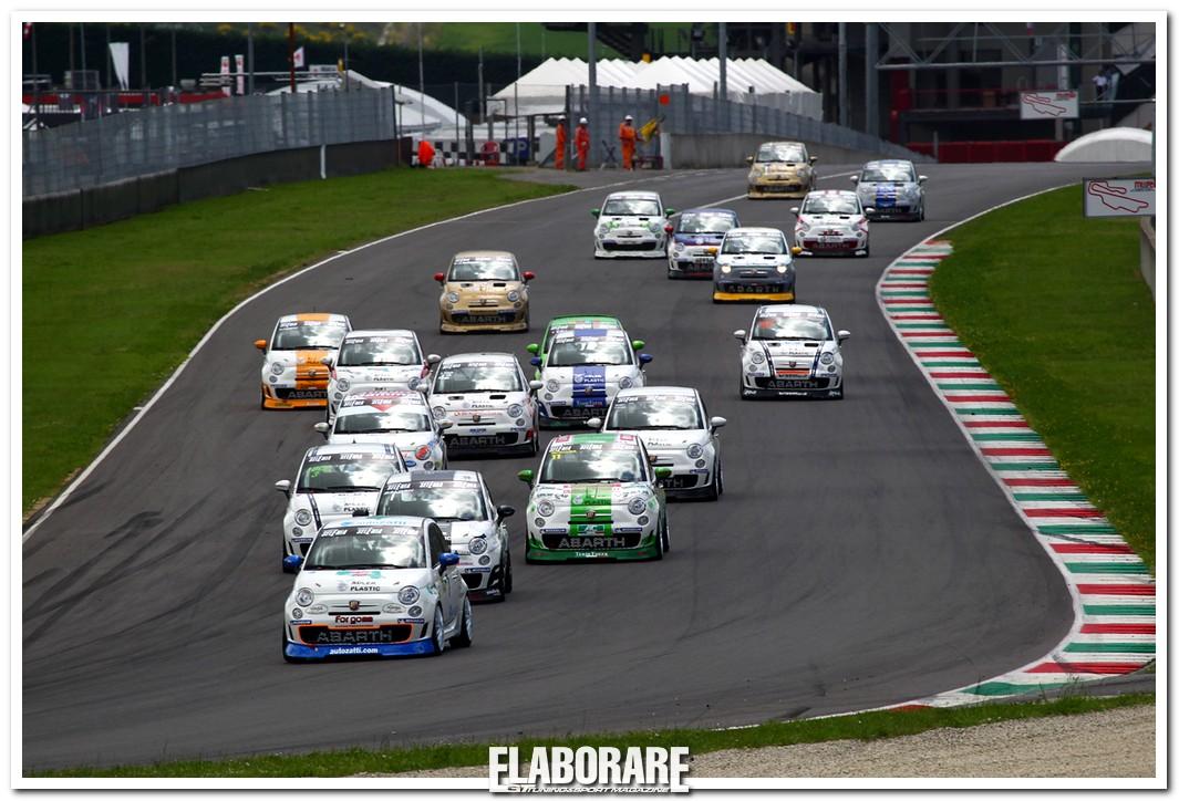 Trofeo Abarth Selenia Italia all'autodromo di Franciacorta