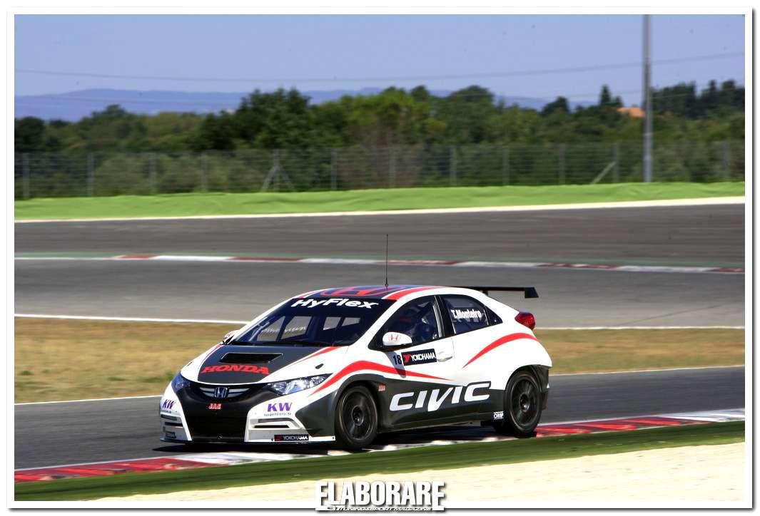 Test su Honda Civic WTCC