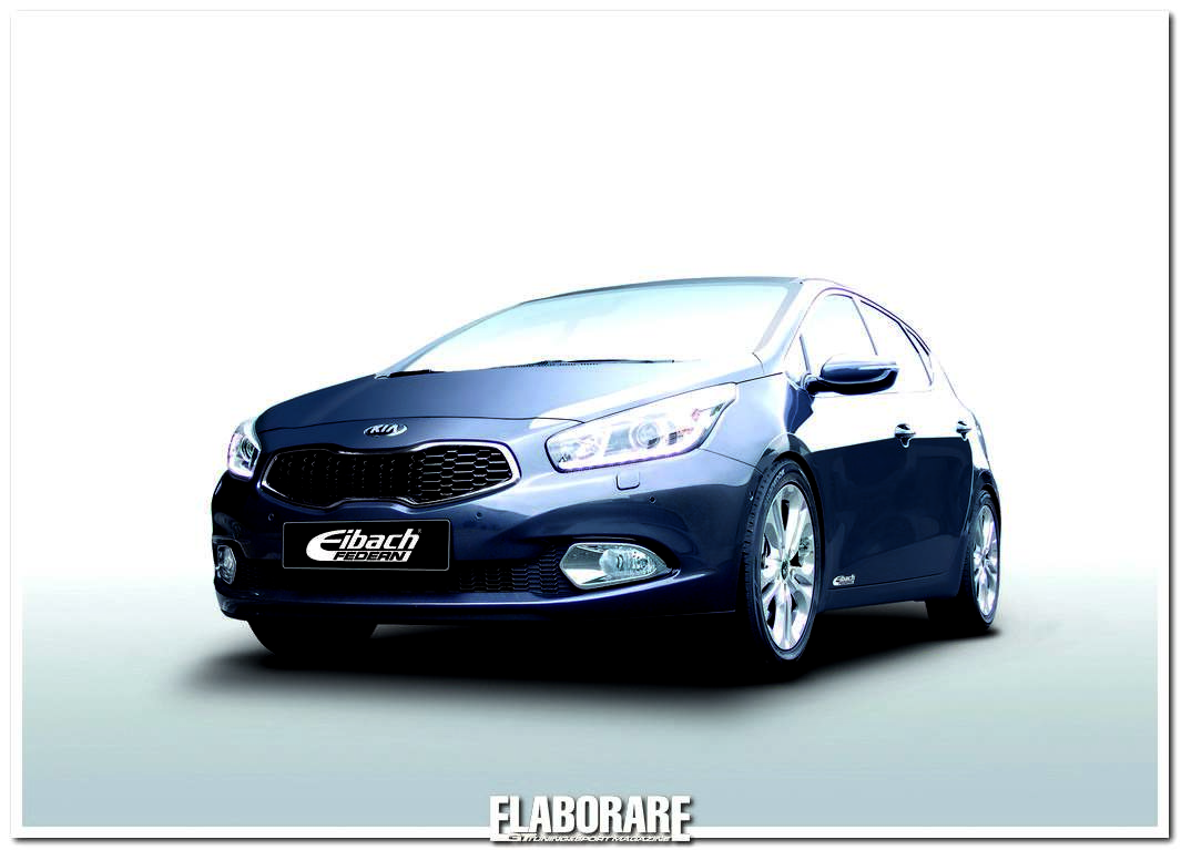 Photo of Kia Cee'd con assetto Eibach-Bilstein