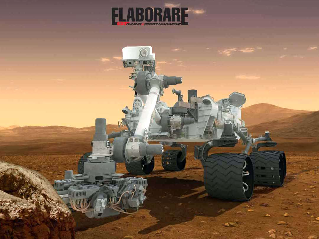 Photo of Numeri della sonda spaziale Curiosity Marte