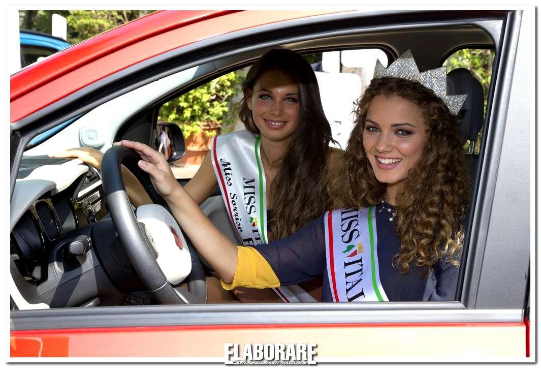 Photo of Fiat Panda e Miss Italia 2012