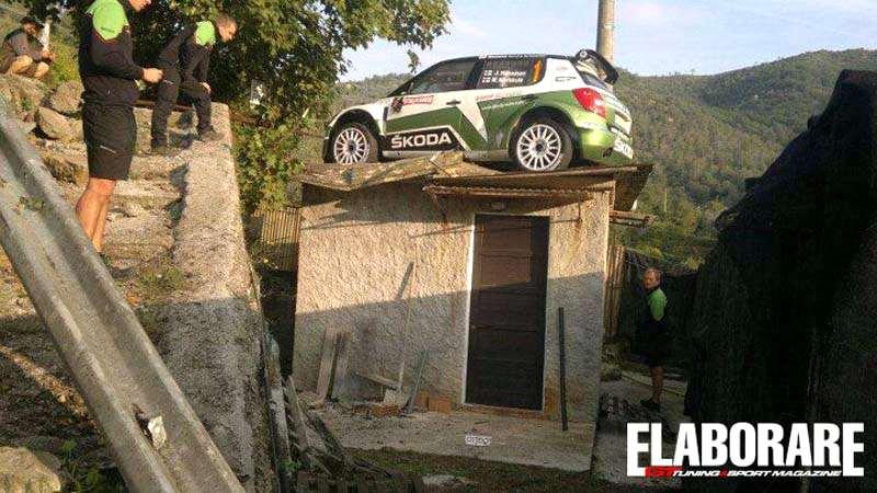Photo of Skoda video incidente Rally San Remo [tetto]