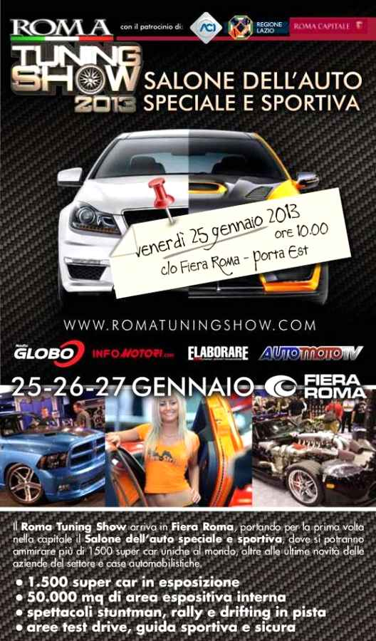 Photo of Entra gratis al Roma Tuning Show!