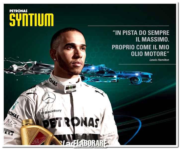 Photo of Hamilton testimonial mondiale di Petronas