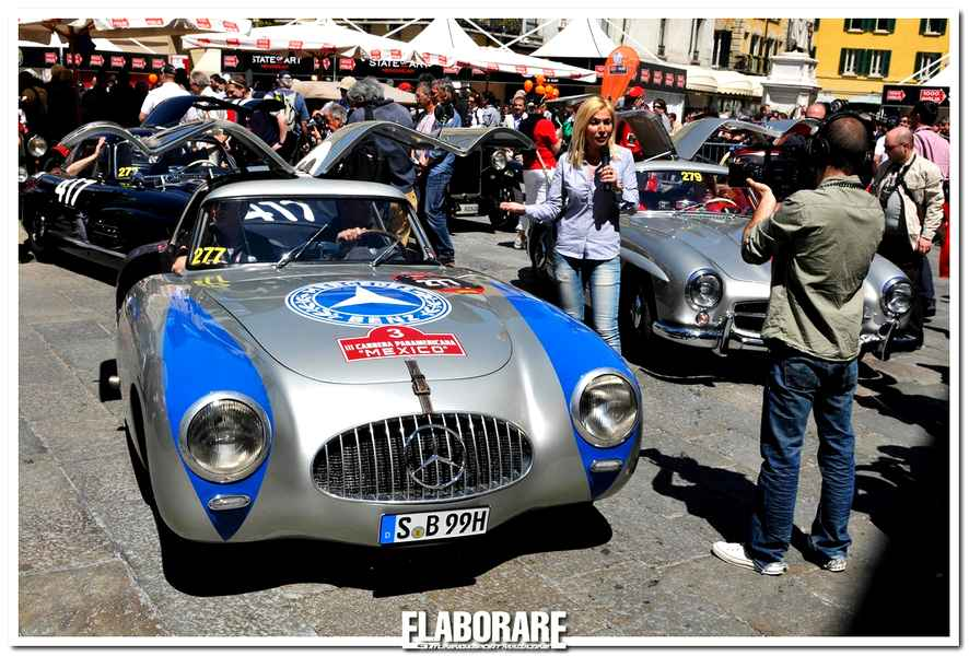 Photo of Mercedes-Benz alla Mille Miglia 2013
