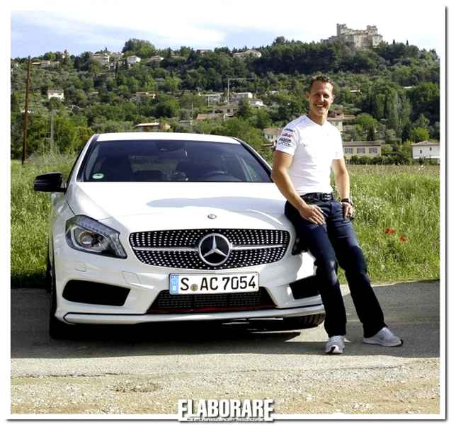 Michael Schumacher collaudatore Merceds-Benz