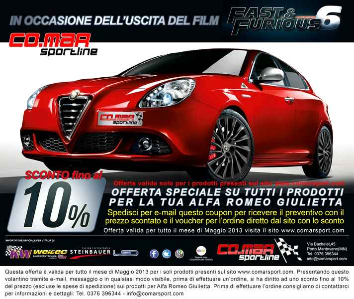 Photo of Una Giulietta da Fast and Furious 6!