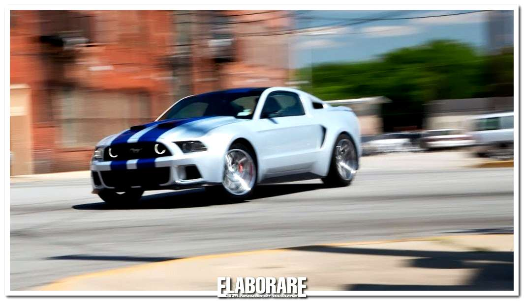 Photo of Need for Speed con Ford Mustang
