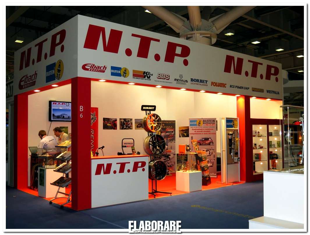 Photo of NTP all'Autopromotec 2013