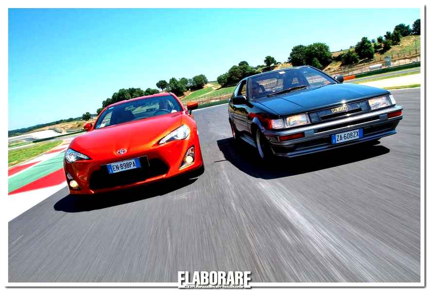 Photo of Toyota GT86 e AE86: test in pista a Vallelunga